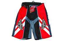 Fly Racing Short Attack men rot-schwarz